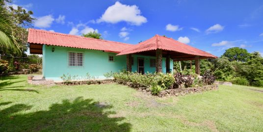 2 BEDROOMS HOUSE, LARGE LAND, SEA VIEW